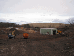 SCS solved concerns regarding odors, dust, and noise from the neighbors abutting composting operations at this site.