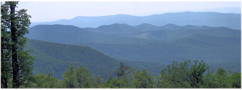 Page County, Virginia, located in the Shenandoah Valley abuts the George Washington National Forest and is home to Shenandoah National Park. Page County's rivers, farmlands, and mountain views are as unspoiled now as they were when the County was founded in 1831.