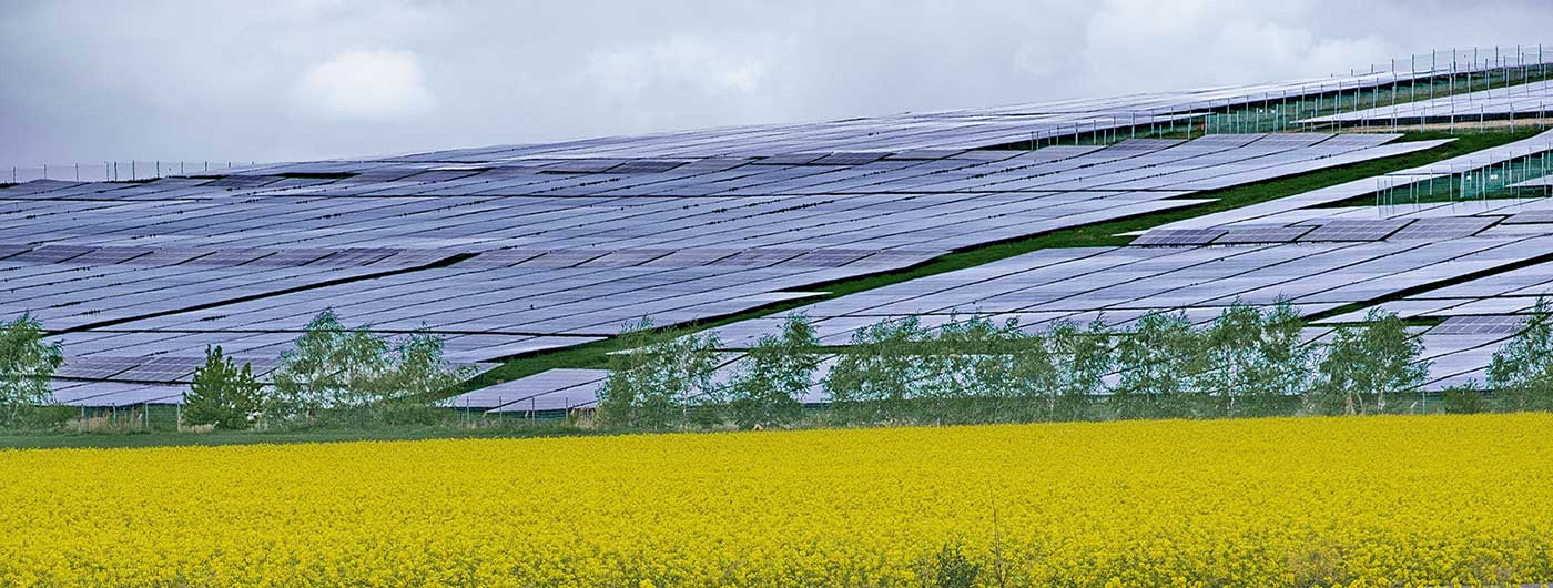 Closed landfills usually make good locations for solar farms.